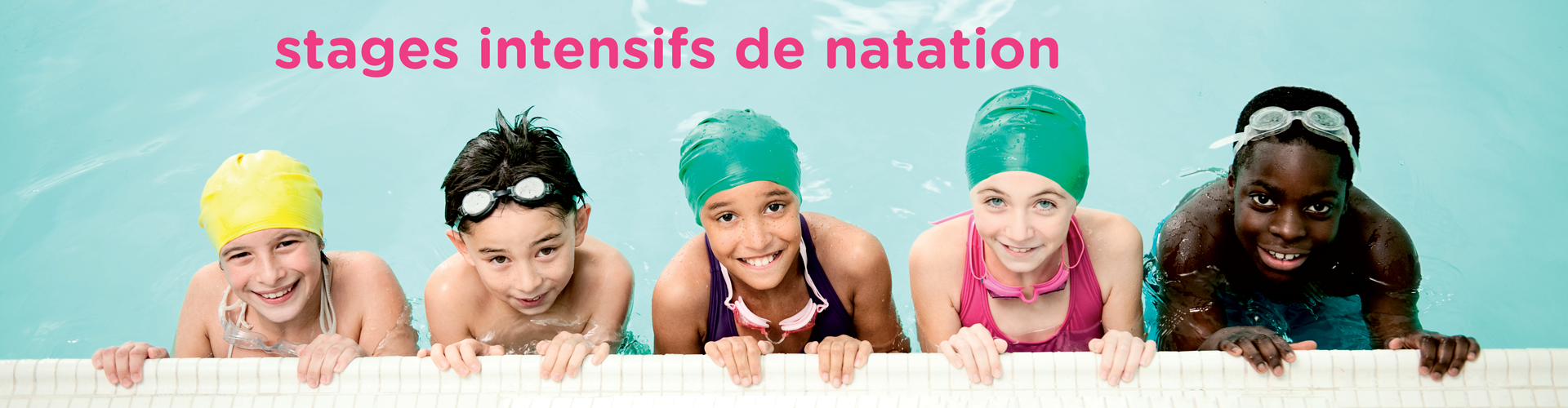 stages intensifs de natation